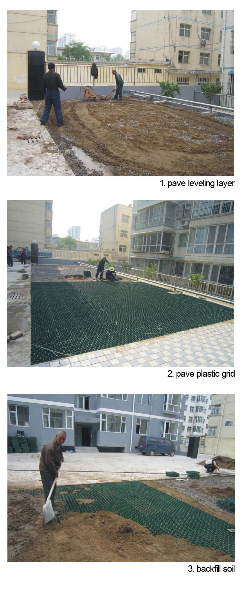 Grass Reinforcement Gravel Grid Manufacturer From China