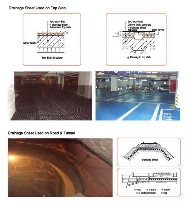 drainage_sheet_used_on_road_tunnel