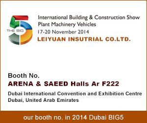 Benvenuti a visitare 2014 Dubai BIG5 Fiera- Booth No .: Ar F222