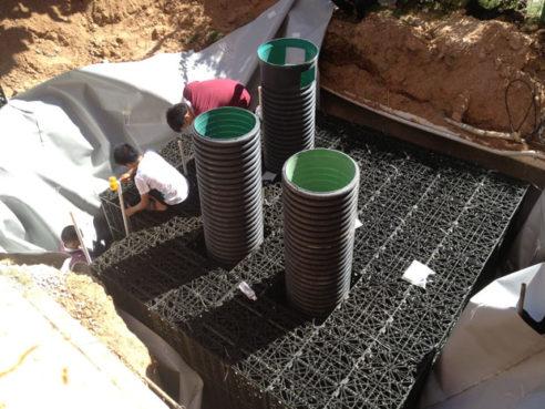 Cos'è il serbatoio di raccolta delle acque piovane?