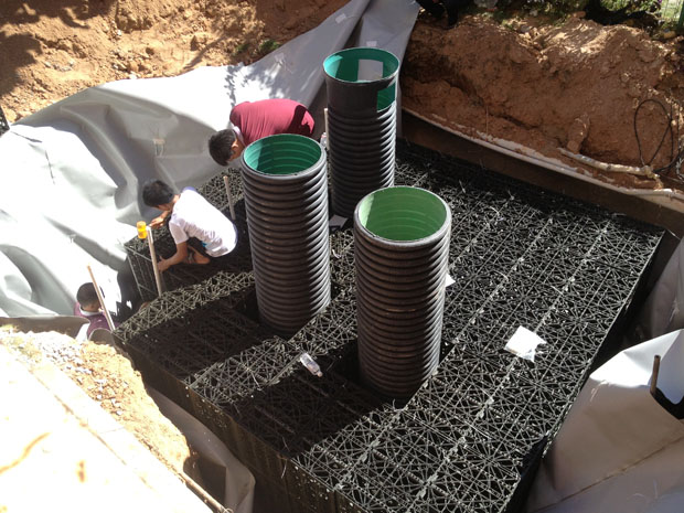 What is the Rainwater Harvesting Tank?