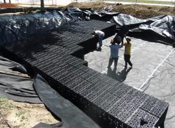 Modulo di accumulo di acqua piovana di alta qualità dalla Cina Leiyuan Industrial
