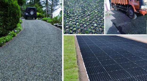 Vad är Gräsförstärkning Gräs Grid System?