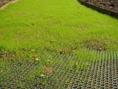 Suggerimenti sui materiali di rinforzo dell'erba