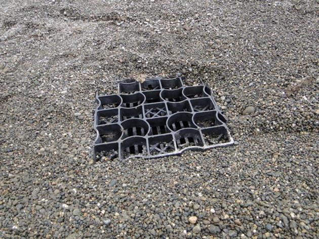 Drainage Gravel Cell : Well drainage interlocking gravel grid paddock ground