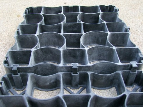 Griglie di stabilizzazione della ghiaia dal design unico per l'arena del bestiame