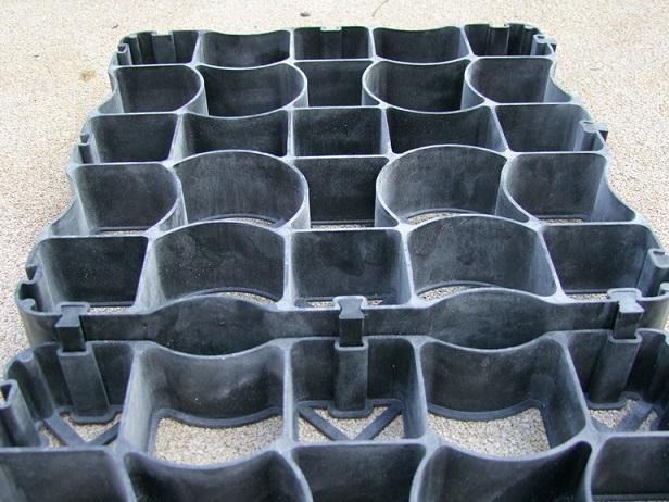 Unique Design Gravel Stabilization Grids for Livestock Arena