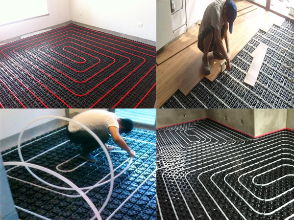 Hydronic Floor Heating Module Installation