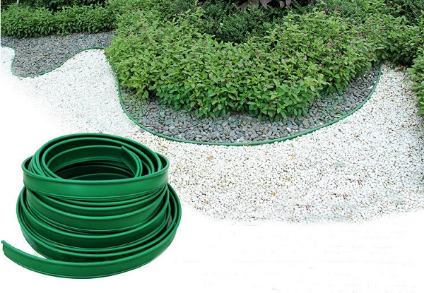 Flexible Plastic Lawn Edging For Landscaping Care