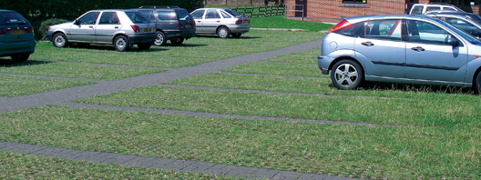 Use Leiyuan Grass Grid Pavers to Made a Easy Parking Lot