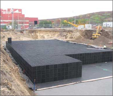 How does Leiyuan Rainwater Harvesting Module Work?