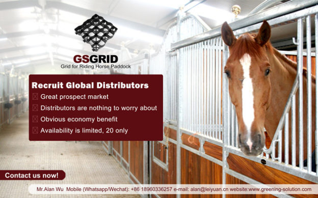 Recruit Global Distributors of Horse Paddock Grids