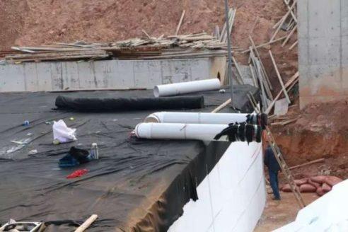 빗물 수확 시스템 공항 프로젝트