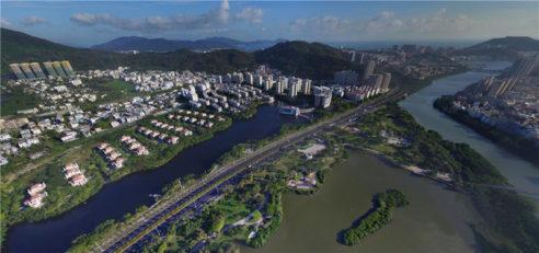 스폰지시 건설에 대한 해외 경험