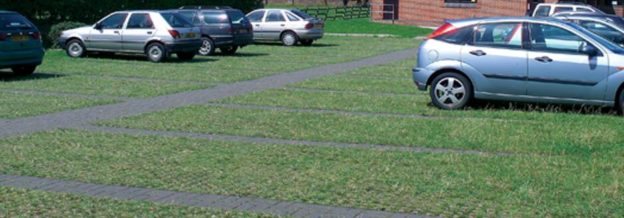 Leiyuan Grass Grid يساعدك على بناء موقف للسيارات الخضراء