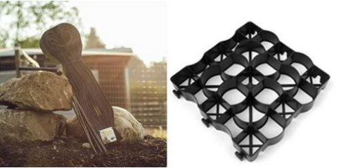 Как сетка GS Hoof отличается от гибкой пластиковой сетки?