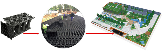 GS-Tanksのグローバル販売代理店、Rainwater Harvesting Moduleを募集します。