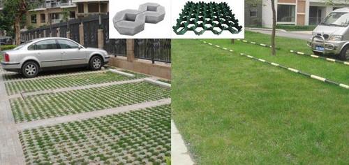 شبكة العشب البلاستيكية ، شبكة رصف العشب ، نظام شبكة حديد التسليح البلاستيكية
