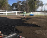 Why should we use paddock grid & How can we fix paddock footing with it?