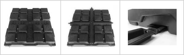 Green Roof Trays, Green Roof Modular Tray System, Green Roof Modules