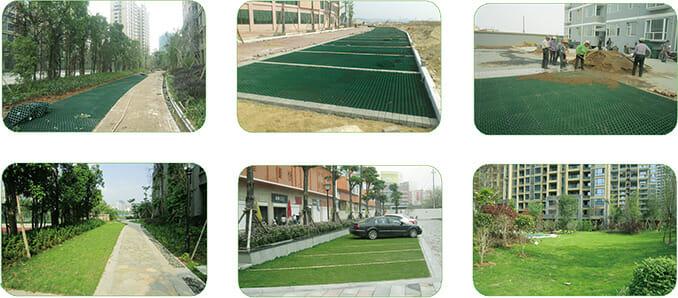 Gravel Grid, Gravel Reinforcement Grid, Plastic Grass Paving Grids