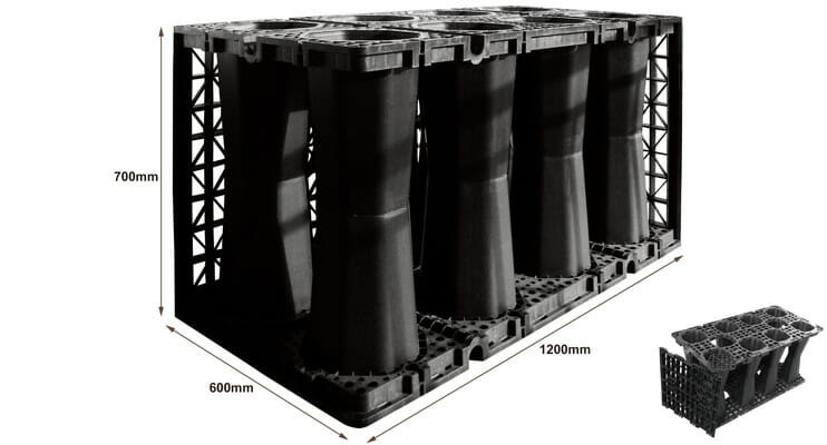 Soakaway Crates, Polypipe Polystorm Cells