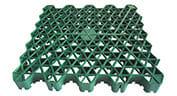 グラベルグリッド、グラベル強化グリッド、プラスチックグラスパディンググリッド