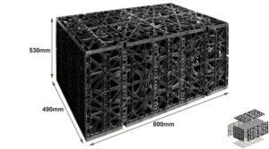 빗물 수확 모듈, 모듈 식 저장 탱크 제조업체