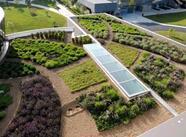 3つのタイプの緑屋根