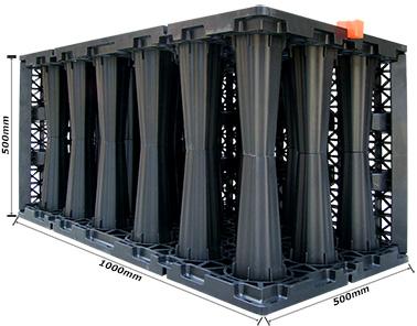 réservoirs de stockage d'eau modulaires, réservoirs souterrains de collecte des eaux de pluie