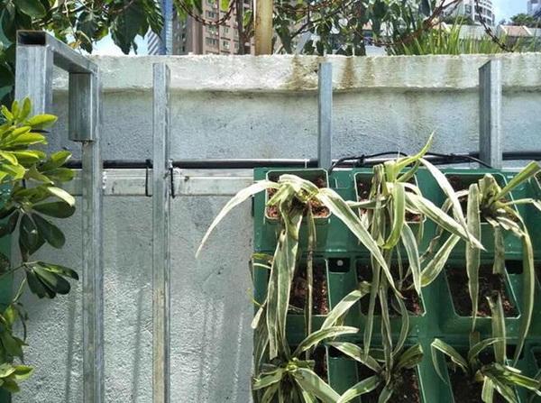 New Wall Greening Planter GF50156