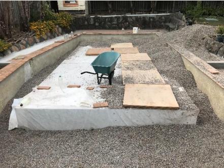 Applicazione del serbatoio d'acqua sotterraneo nel progetto di conversione della piscina