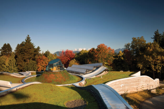 Centro de visitantes del jardín botánico VanDusen