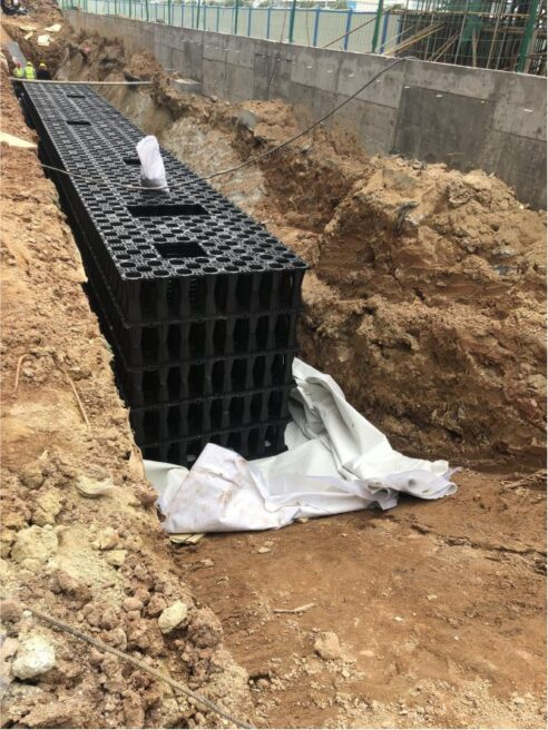 Application of Rainwater Harvesting Modular
