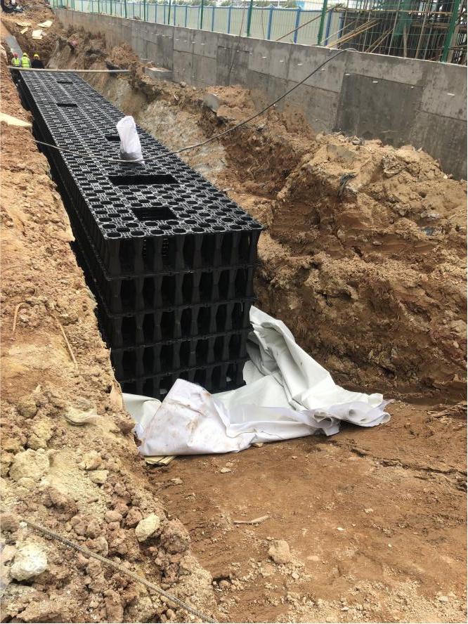 Zastosowanie modułowego zbierania wody deszczowej